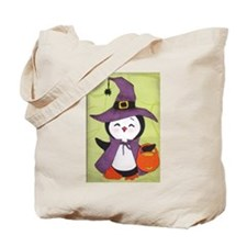 Happy Halloween Penguin cutie Tote Bag