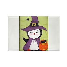 Happy Halloween Penguin cutie Rectangle Magnet