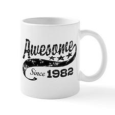 Awesome Since 1982 Small Mugs