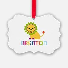 Brenton Loves Lions Ornament