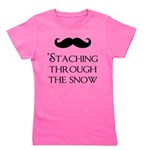 'Staching Through the Snow Girl's Tee