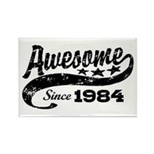 Awesome Since 1984 Rectangle Magnet