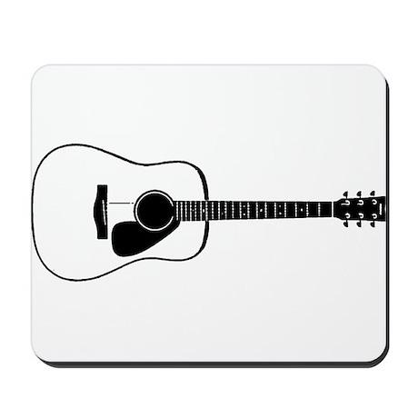 Acoustic Guitar t-shirt Mousepad
