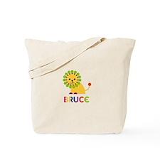 Bruce Loves Lions Tote Bag