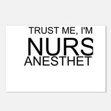 Trust Me, Im A Nurse Anesthetist Postcards (Packag