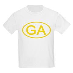 GA Oval - Georgia Kids T-Shirt