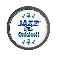 Jazz is the Greatest Wall Clock