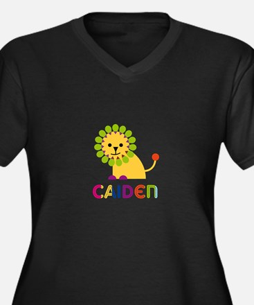 Caiden Loves Lions Plus Size T-Shirt