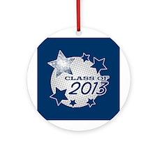 Half Tone Grad 2013 Ornament (Round)