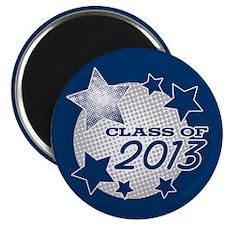 "Half Tone Grad 2013 2.25"" Magnet (10 pack)"