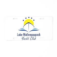 Lake Wallenpaupack Yacht Club Logo Aluminum Licens