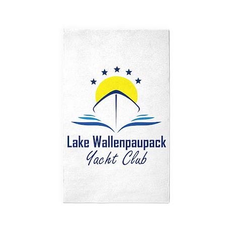 Lake Wallenpaupack Yacht Club Logo 3'x5' Area Rug