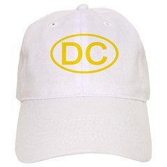DC Oval - District of Columbia Baseball Cap