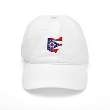 Ohio Flag Baseball Cap