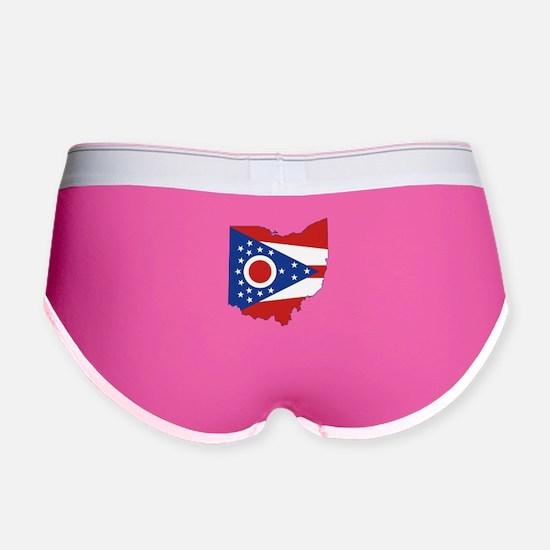 Ohio Flag Women's Boy Brief
