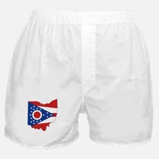 Ohio Flag Boxer Shorts