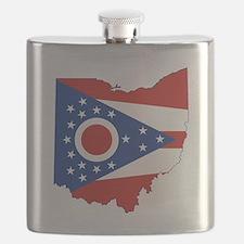 Ohio Flag Flask