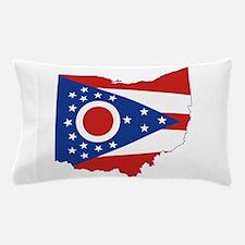 Ohio Flag Pillow Case