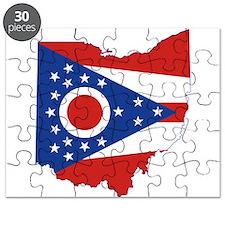 Ohio Flag Puzzle