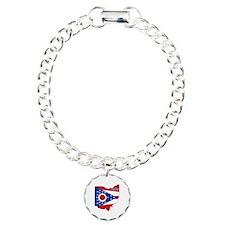Ohio Flag Bracelet
