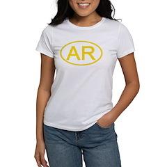 AR Oval - Arkansas Tee