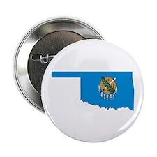 "Oklahoma Flag 2.25"" Button"