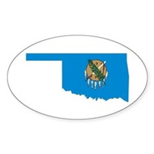 Oklahoma Flag Decal
