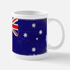 antiqued Australian flag Mug