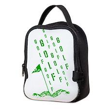 Golf, On the Green Neoprene Lunch Bag