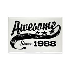Awesome Since 1988 Rectangle Magnet