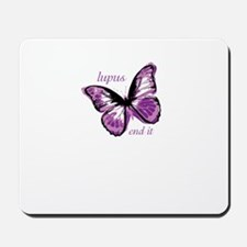 lupus end it Mousepad
