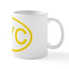 NYC Oval - New York City Mug