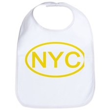 NYC Oval - New York City Bib
