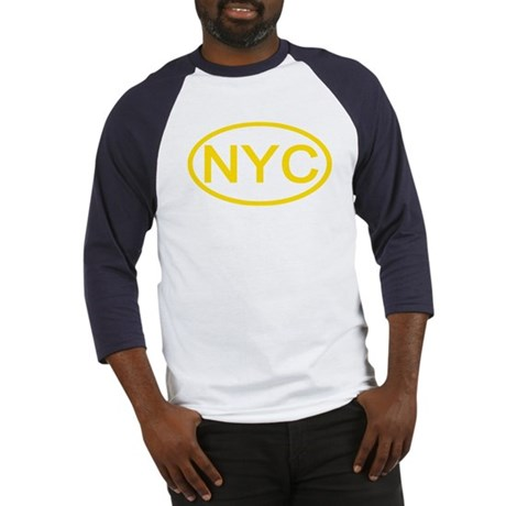 NYC Oval - New York City Baseball Jersey