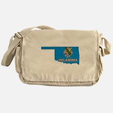Oklahoma Flag Messenger Bag