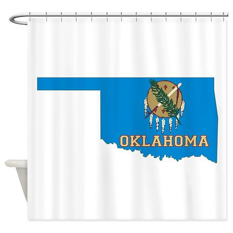 Oklahoma Flag Shower Curtain By Statesofamerica