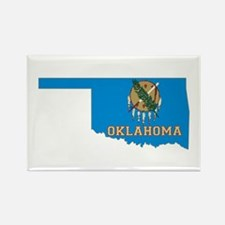 Oklahoma Flag Rectangle Magnet