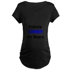 Future COWBOY on Board Maternity T-Shirt