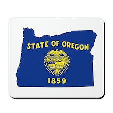 Oregon Flag Mousepad