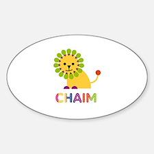 Chaim Loves Lions Decal