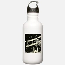waving goodby Water Bottle