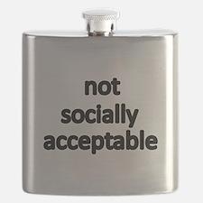 not socially acceptable Flask