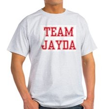 TEAM JAYDA  Ash Grey T-Shirt