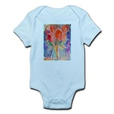 Tulips! Colorful, floral art! Body Suit