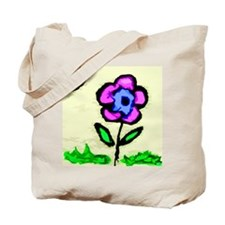 Sunny Day Flower Tote Bag