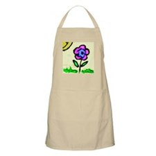 Sunny Day Flower Apron