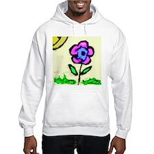 Sunny Day Flower Hoodie