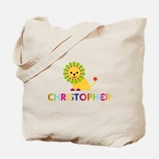 Christopher Loves Lions Tote Bag