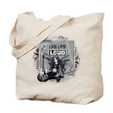 Live Life Out Loud.png Tote Bag
