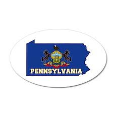 Pennsylvania Flag Wall Decal